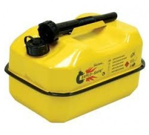 Explo-Safe Explosion Safe Yellow Fuel Can - 10 Litre