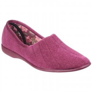 GBS Audrey Womens Slippers Purple (Sizes 3-9)