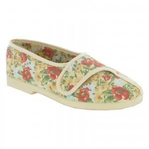 GBS Wendy Womens Slippers Yellow (Sizes 3-9)