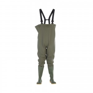 Dikamar Administrator Chest Wader Boots Green (Sizes 6-13)