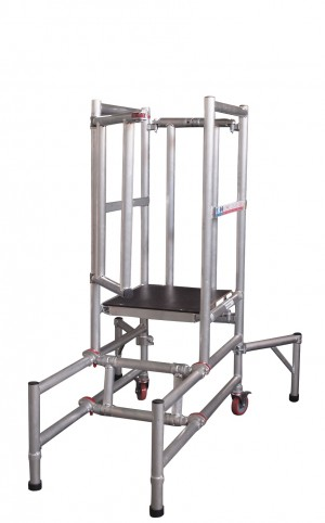 UTS BS8620 Anti-Surf Podium Steps Low Level Alloy Tower (Various Heights)