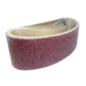 Toolpak Cloth Sanding Belts 100mm x 610mm Pack Of 5 (Various Grits)