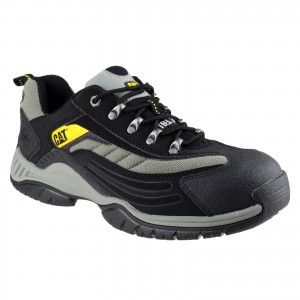 Caterpillar Moor Safety Work Trainer Shoes Black (Sizes 3-13)