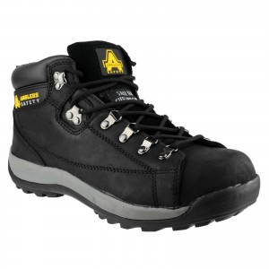 Amblers FS123 Safety Work Boots Black (Sizes 3-12)