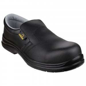 Amblers FS661 Lightweight Safety Work Shoes Black (Sizes 3-12)