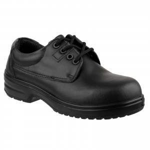 Amblers FS121C Womens Safety Work Shoes Black (Sizes 2-8)
