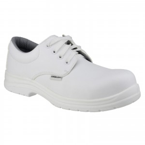 Amblers FS511 Safety Work Shoes White (Sizes 3-12)