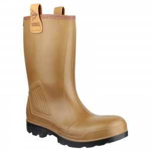 Dunlop Rig Air Waterproof Safety Rigger Work Boots Brown (Sizes 6-13)