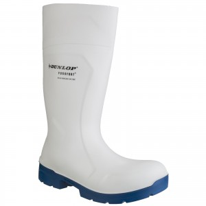 Dunlop Food Pro Multigrip Safety Wellington Work Boots White (Sizes 3-14)