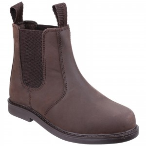 Amblers Camberwell Childrens Dealer Boots Brown (Sizes 10-5)
