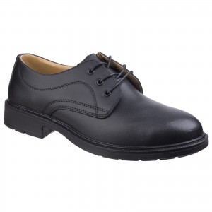 Amblers FS45 Safety Work Shoes Black (Sizes 5-14)