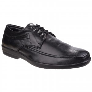Fleet & Foster Dave Oxford Formal Shoes Black (Sizes 6-12)