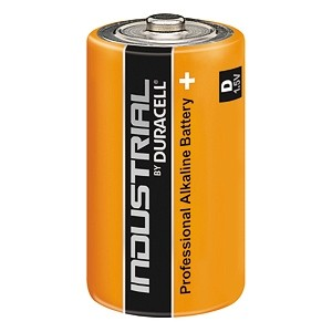 Duracell Industrial D Battery (Pack of 10)