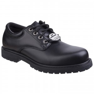 Skechers Cottonwood Occupational Shoes Black (Sizes 6-13)