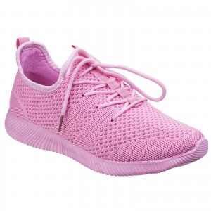 Divaz Heidi Womens Casual Trainer Shoes Pink (Sizes 3-8)