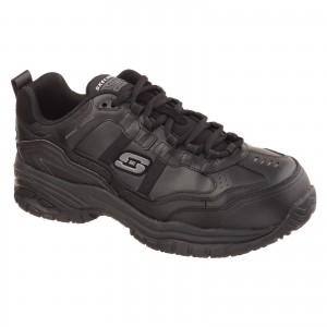 Skechers Grinnell Safety Work Trainer Shoes Black (Sizes 6-12)