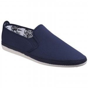 Flossy Orla Womens Canvas Shoes Navy (Sizes 3-6)