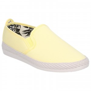 Flossy Orla Womens Canvas Shoes Yellow (Sizes 3-7)