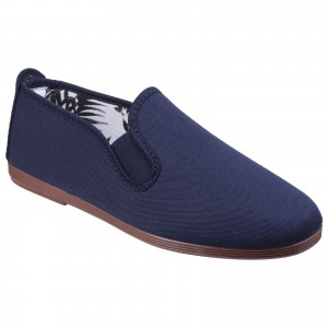 Flossy Arnedo Childrens Canvas Shoes Navy (Sizes 5.5-9)