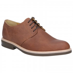 Steptronic Gleneagles Derby Formal Shoes Tan (Sizes 6-12)