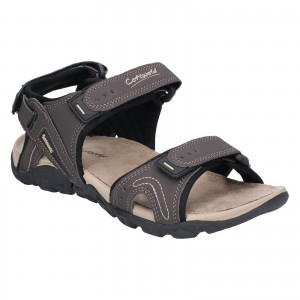 Cotswold Rodmarton Touch Fastening Walking Sandals Brown (Sizes 7-12)