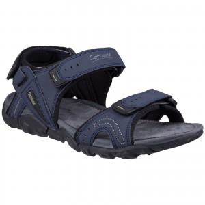 Cotswold Rodmarton Touch Fastening Walking Sandals Navy (Sizes 7-12)