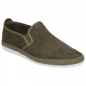 Flossy Vendarval Canvas Shoes Green (Sizes 7-12)