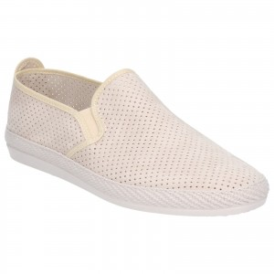 Flossy Vendarval Canvas Shoes White (Sizes 7-12)
