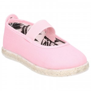 Flossy Astro Childrens Canvas Shoes Pink (Sizes 5.5-9)