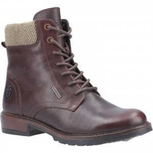 Cotswold Minety Womens Waterproof Ankle Boots Brown (Sizes 3-8)