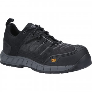 Caterpillar Byway Safety Work Trainer Shoes Black (Sizes 6-13)