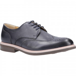 Steptronic George Brogue Formal Shoes Grey (Sizes 7-11)