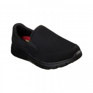 Skechers Cozard Womens Occupational Shoes Black (Sizes 2-8)
