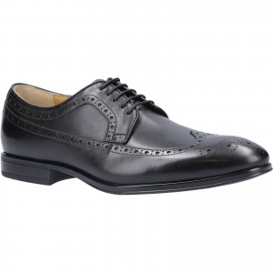 Steptronic Francis Derby Formal Shoes Black (Sizes 7-12)