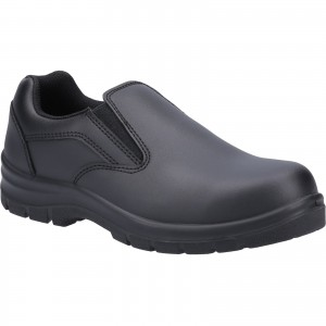 Amblers AS716C Grace Womens Safety Work Shoes Black (Sizes 3-8)