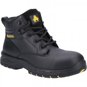 Amblers AS605C Womens Waterproof Safety Work Boots Black (Sizes 3-9)