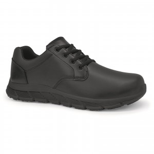 Shoes For Crews Saloon II Occupational Shoes Black (Sizes 7-11)