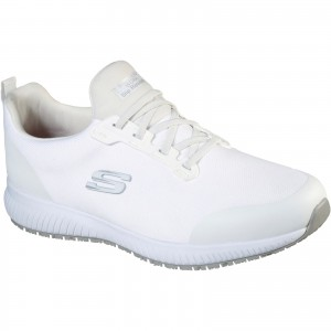 Skechers Squad Myton Occupational Trainer Shoes White (Sizes 6-13)