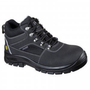 Skechers Trophus Letic Safety Work Boots Black (Sizes 6-12)