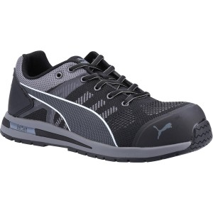 Puma Elevate Knit Safety Work Trainer Shoes Black (Sizes 6-12)