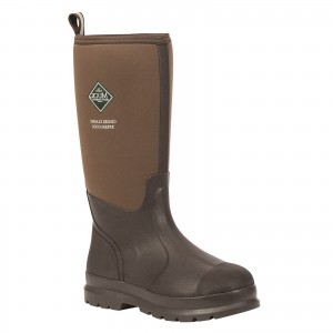 Muck Boots Chore Classic Wellington Safety Boots Brown (Sizes 6-14)