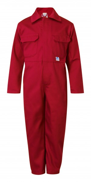 Fort Tearaway Childrens One-Piece Coverall Red (Various Sizes)