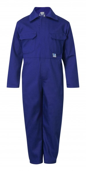 Fort Tearaway Childrens One-Piece Coverall Royal Blue (Various Sizes)