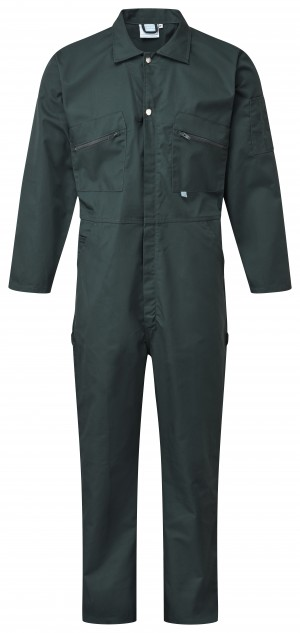 Fort Full Zip One-Piece Mechanics Coveralls Green (Various Sizes)