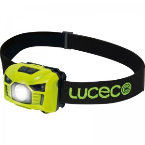 Luceco LED Rechargeable Inspection Head Torch 150 Lumens