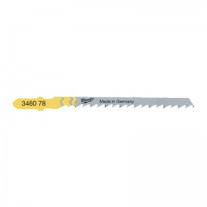 Milwaukee Curved Wood Jig Saw Blades 75 x 4mm Pack of 5