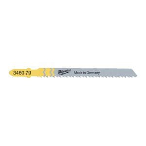 Milwaukee Reversed Jig Saw Blades 75 x 2.5mm Pack of 5
