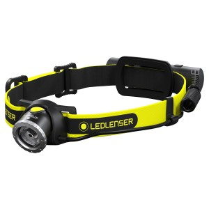 LED Lenser iH8R Rechargeable Head Torch 600 Lumens