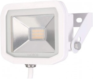 Luceco Guardian Slimline LED 8W Security Floodlight Warm White 600 Lumens