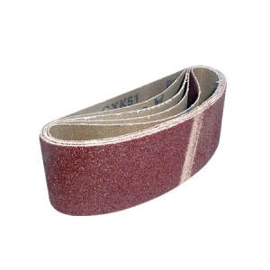 Toolpak Cloth Sanding Belts 60mm x 400mm Pack Of 5 (Various Grits)